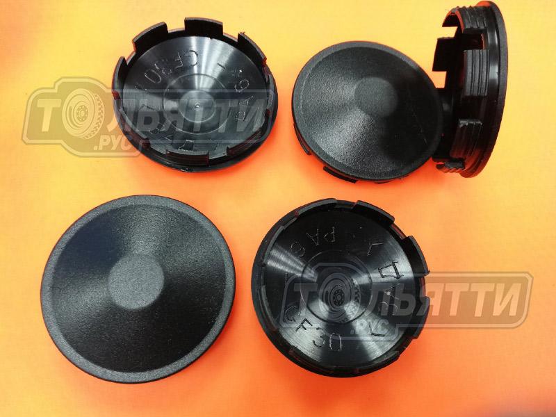 Колпак (заглушка) пластик чёрный ступицы ЗАДНИЙ колеса штампосварного Веста Xray Largus Logan Sandero