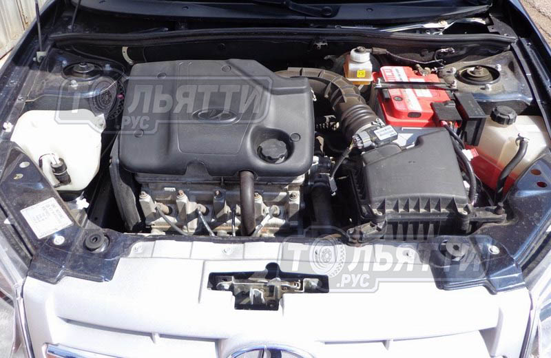 Экран для 8-ми клапанного двигателя а/м Гранта, Калина2, Самара, Приора2(от 2016г. с 8-ми кл двиг) без знака