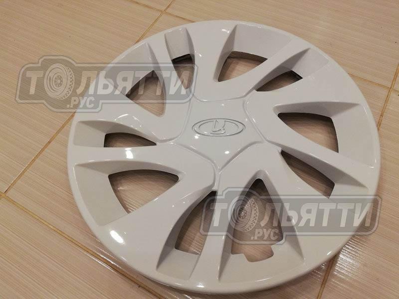 Колпаки колес штампосварных Гранта/Калина2 (R14) (косой рисунок 2191)