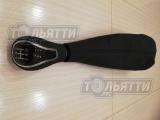 Рукоятка КПП (на базе рукоятки Веста) с чехлом в коже Лада 4х4