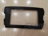 Рамка переходная Datsun для магнитолы 2DIN Чёрная матовая (АБС)