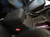 Чехол подлокотника ящика вещевого центрального УАЗ Патриот кожа чёрная