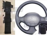 Оплетка кожа на руль с повторением анатомической ф-мы руля Renault Logan1 (LS) 2004-2009г., Renault Clio (В/С/ВО/1) 1998-2001г., Daca Logan 1(SD) 2001-2012г. в комплекте с нитью иголкой