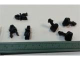 Фиксатор 2170-5325324 (4шт) и замок поворотный 2170-5325332 (3шт) на крышку блока предохранителей Приора
