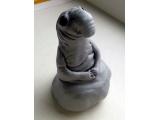 Миниатюра Ждун из полимерной глины