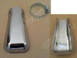 Насадка глушителя хром Аля-Кобра