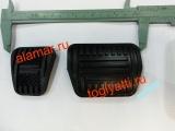 Накладки педали газа АКП и тормоза(21902) Гранта Калина Датсун Приора