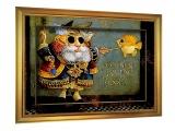 Картина под стеклом в раме N 003