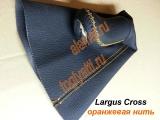Рукоятка КПП с чехлом Lada LARGUS CROSS (оранжевая нить) & Almera, LOGAN, Sandero, DUSTER, TERRANO
