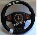 Руль «Барс» с вставкой под дерево для а/м Калина Гранта Datsun Приора