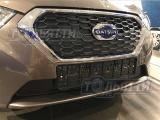 Пластиковая зимняя заглушка в решётку радиатора (утеплитель радиатора) Datsun MiDo