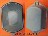 Колпак (крышка доступа к лампам) фары 2110 BOSH с зацепомКолпак (крышка доступа к лампам) фары 2114 BOSH прямоугольный