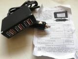 USB зарядка в гнездо прикуривателя с проводом