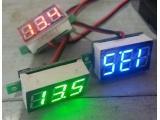 Цифровой вольтметр врезаемый (цвет индикации случайный)