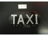 Вывеска такси светодиодная цвет зеленый (fresh)