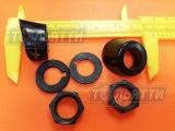 Втулки, гайки, прокладки рычага стеклоочистителя классика 2103/04/05/06/07 Установочный комплект