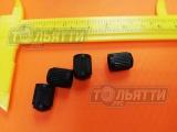 Колпачок ниппеля (золотника, соска) пластик чёрный