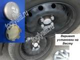 Колпак колеса литого 2172-3101014-00 Гранта,Приора, Калина2, Ларгус Кросс (Аттика, Гранта, Магма, Орбис, Сонар, Арин берд, Ларгус кросс)