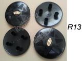Колпаки на болты штампосварного колеса R13 пластик второй сорт (набор 4шт)