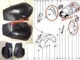 Щиток арки задней Ларгус (полулокер заднего колеса) (номер LADA 850000365/64) 8200848950 / 8200848949 (левый/правый)