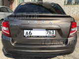 Спойлер (липспойлер) крышки багажника Гранта Fl седан ШИРОКИЙ окрашенный