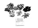 Комплект крепления передних локеров и щитков Приора, 2110.