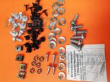 Комплект крепления переднего Se бампера, решеток и кожухов фар Приора.