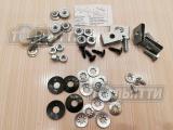 Комплект кр-ния бампера переднего 1117, 1118 1119 балки бампера, решетки радиатора