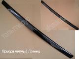 Молдинг (сабля) капота черный глянец (не окрашен) Приора 2170-8402102