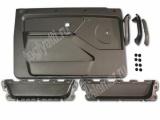 Обивка двери передней н/о пластик 21214 лев/прав в сборе с ручками и карманами