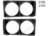 Облицовки фар черные 2106-8401016/17 (лев/прав)