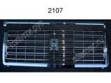 Решетка радиатора завод хром 2107-840101401в комплекте с молдингом реш рад хром 2107-8402104