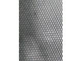 Сетка радиатора рисунок СОТЫ алюминиевая цв.ЧЕРНЫЙ (fresh)
